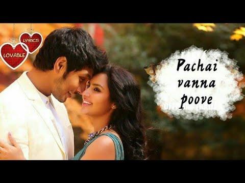 Pachai vanna poove - Vai Raja Vai whatsapp status 30sec tamil love status   LL