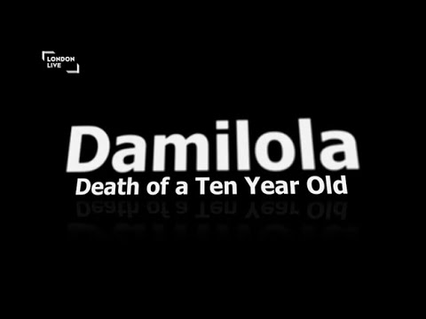 Damilola~Death of a 10 Year Old