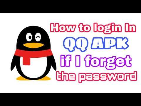 How To Login In Qq Apk If I Forget The Password By Ligxt Youtube