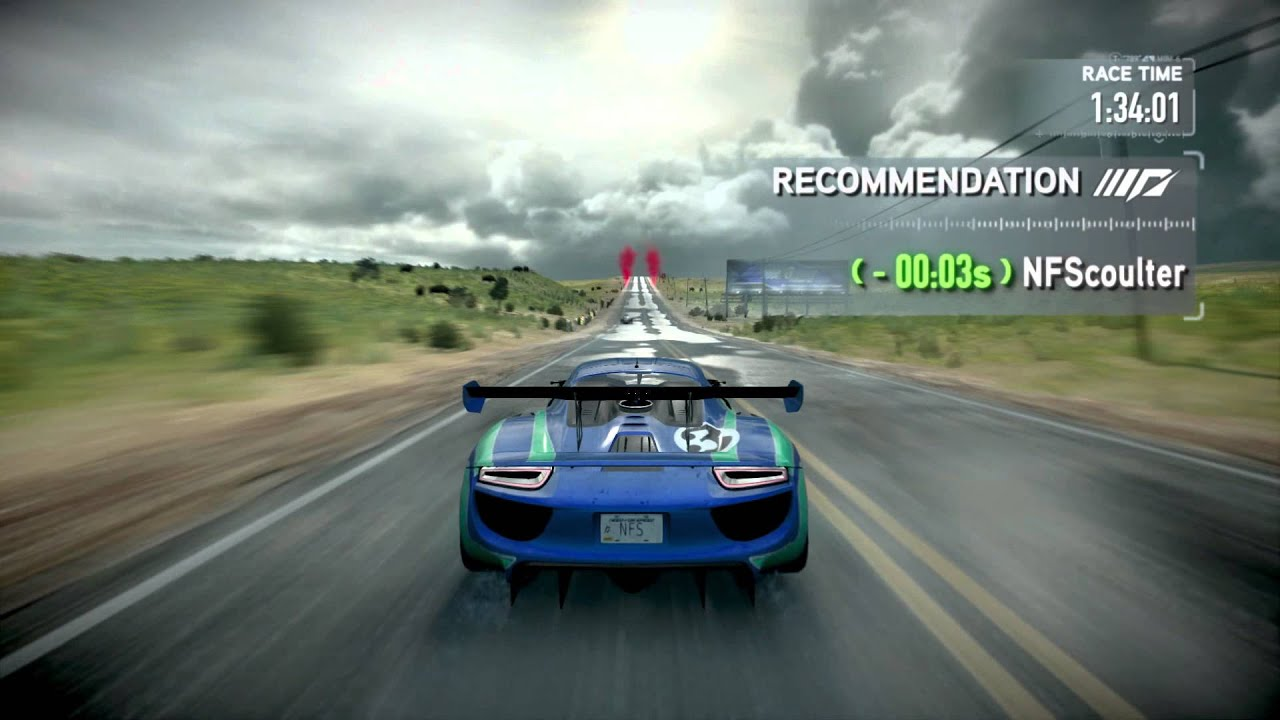 Need for Speed The Run -- Серии испытаний