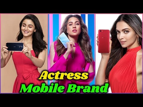 10 Bollywood Actresses And Their Mobile Phone Brands In 2020 | Sara Ali Khan, Alia Bhatt, Deepika