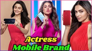 10 Bollywood Actresses and Their Mobile Phone Brands in 2020 | Sara Ali Khan, Alia Bhatt, Deepika