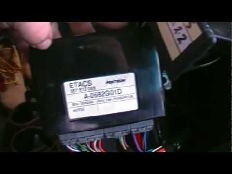 LDV Maxus Van  ETACS Unit Relay Fix (for fog lights and