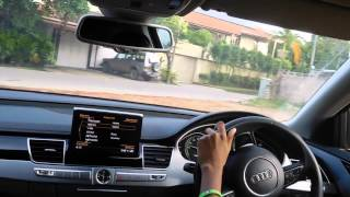 Test Drive: 2014 Audi A8 hybrid (75th Video Special)(If you are looking for a sporty, comfy, road cruiser that gets 35 MPG, great on back country roads and VERY POWERFUL, then the Audi A8 is the best option that ..., 2015-07-01T14:21:37.000Z)