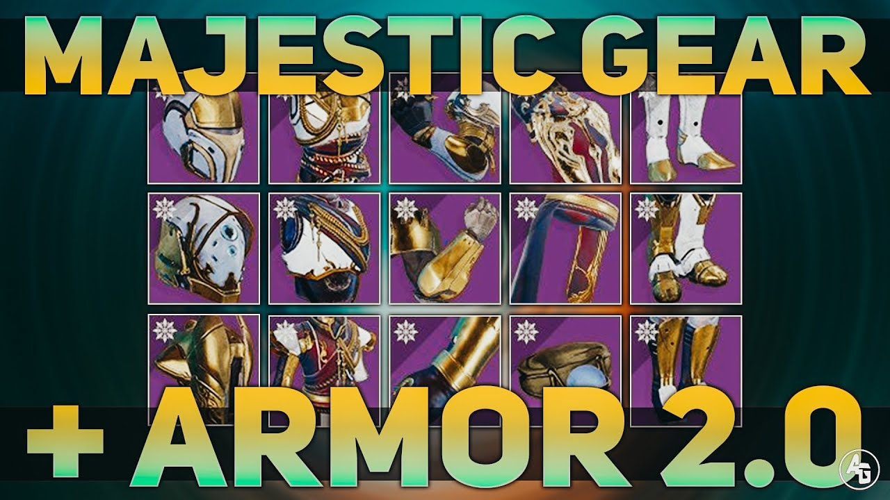 Majestic Armor & Armor 2.0 (Solstice of Heroes GUIDE ...