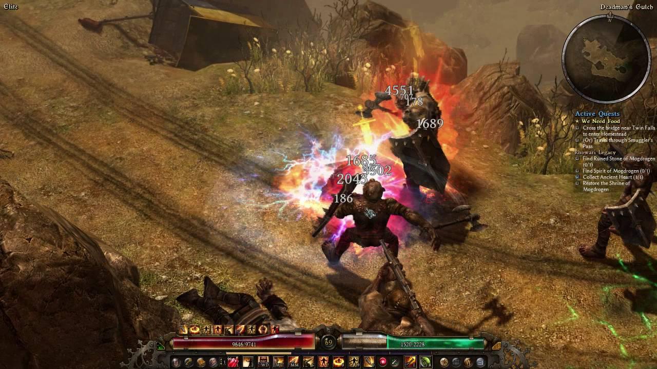 Grim Dawn - Commando (block proc build) on Elite by Duck King