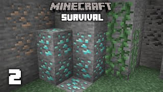 Minecraft: Insane Mining Method! - 1.16 Survival Let's play | Ep 2