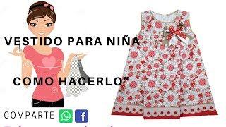 Patrones de vestidos de niña gratis para descargar