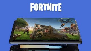 fortnite released in android samsung flagship😱😱😱