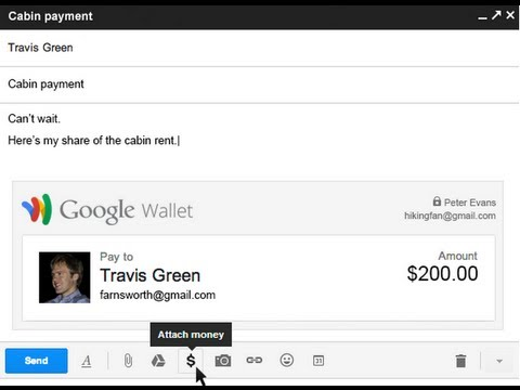 Google To Allow Gmail Users To Send Money Via Email