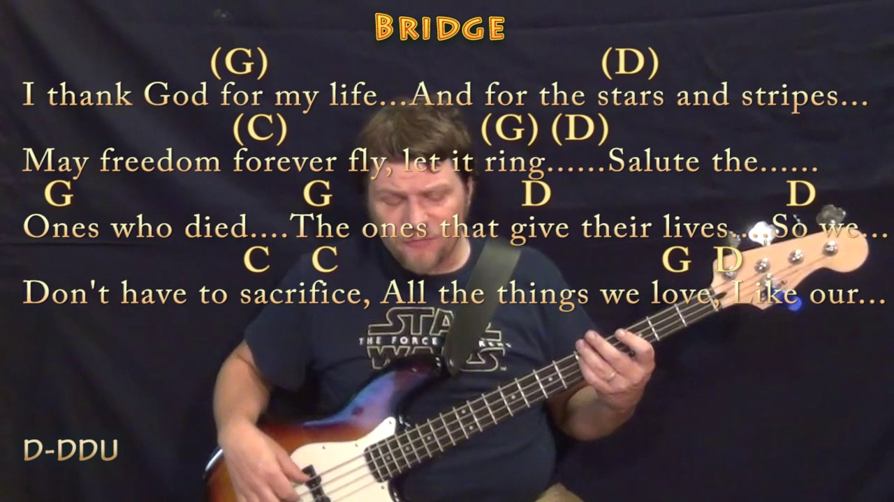 Chicken fried zac brown bass guitar cover lesson in g with chicken fried zac brown bass guitar cover lesson in g with chordslyrics hexwebz Choice Image