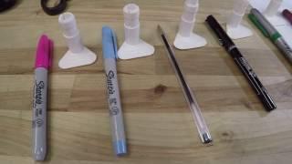 Holder Pen Adapter Set for Cricut Explore Air Air 2 Maker Sharpie BIC Crayola