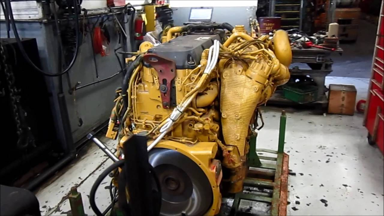 2008 CAT C13 Acert Engine Running