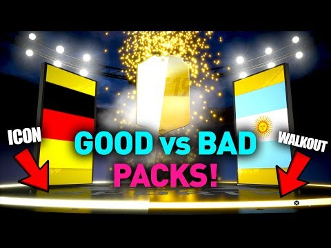 FIFA 19 GOOD Vs BAD PACKS! HOW TO TELL IF ITS A WALKOUT/ICON!