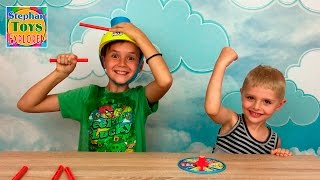 Мокрая Голова челлендж игра для детей распаковка Wet Head Challenge game for kids unboxing