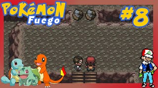 Pokémon Rojo Fuego - Encuentro unos fósiles 😮 - Cap. 08 - Gameplay Español