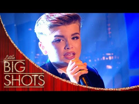 Reuben's Voice Will Blow You Away!  Little Big Shots
