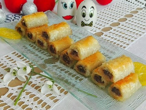 Cigaret baklava / Baklava sa keksom i čokoladom - Kuhinja Sunčane Staze