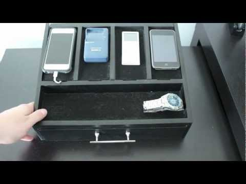 Best Charging Station Organizer - iPhone, Cell Phones and Electronics
