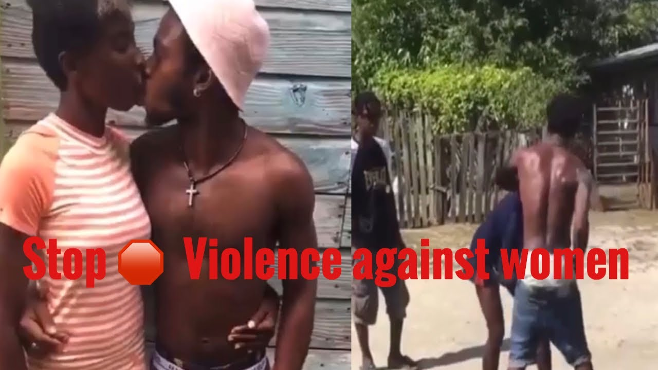 Download Man beating his woman in Jamaica /Stop violence against woman