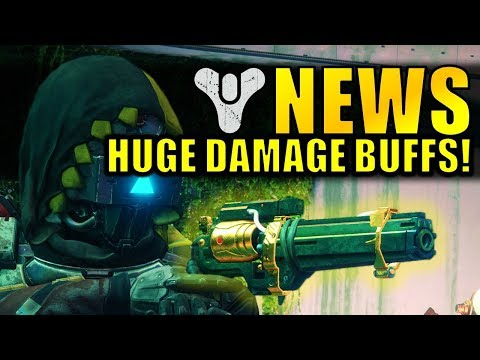 Destiny 2 News: HUGE DAMAGE BUFFS! NEW SUPER BUFF! | March Update Info