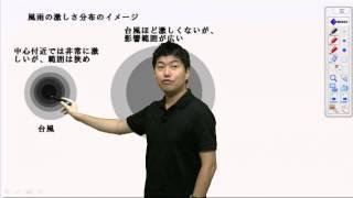 台風と低気圧(温帯低気圧の違いについて)
