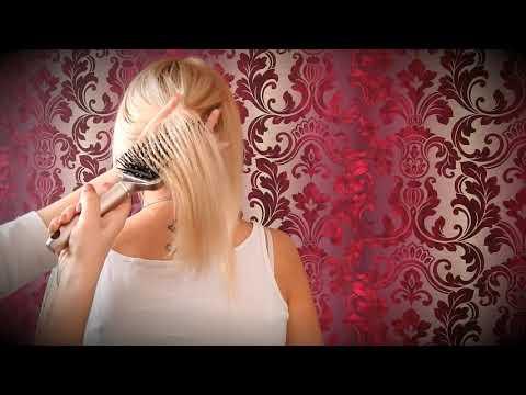 Hair brushing, soft scratching*ASMR