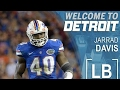 Detroit Lions Select Jarred Davis