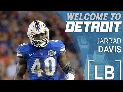 Detroit Lions Select Jarred Davis