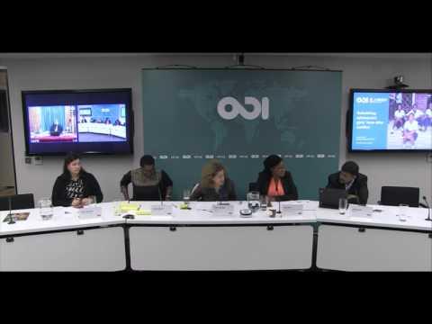 Rebuilding adolescent girls lives after conflict - Q&A Session