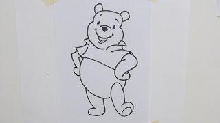 How to draw Winnie Pooh [Disney]