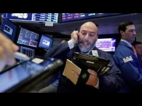 The wild market swings due to high-frequency trading?