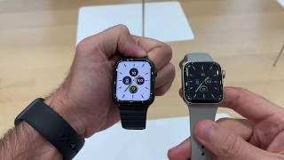 Apple Watch Series 5 hands on (Turkish)