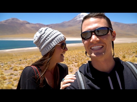 AMAZING ATACAMA DESERT ROAD TRIP | Flamingos | Salt Flats | Alpine Lakes