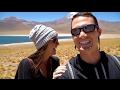 AMAZING ATACAMA DESERT ROAD TRIP | Flamingos | Salt Flats | Alpine Lakes