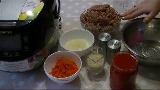 Домашние видео рецепты - тефтели с морковью в мультиварке