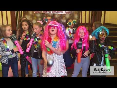 Sofia's Popstar Recording Party
