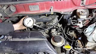 Причина недостаточной мощности двигателя 2L Toyota HiAce
