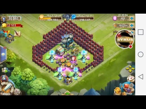 My Castle Clash Best Th 15 Hbm Base