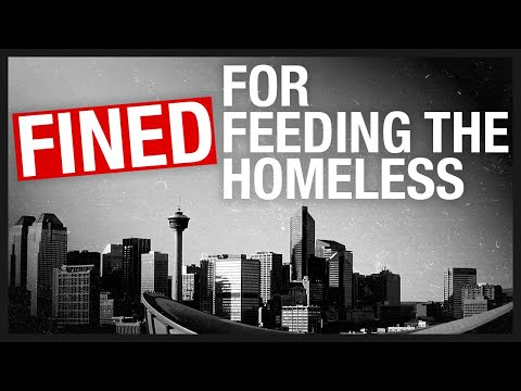 """""""Social distancing"""" police fine man $1.2K for feeding homeless 