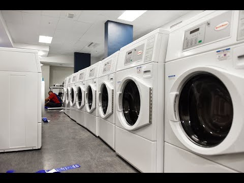 New washing machines cut water use in residences