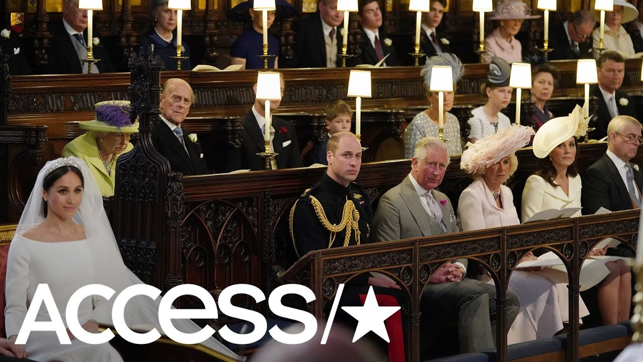 The Empty Seat At The Royal Wedding Wasn't For Princess Diana, But It Followed Another British Tradition
