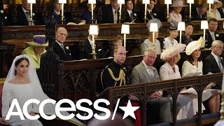Prince Harry & Meghan Markle Royal Wedding: Was The Empty Seat For Lady Diana? | Access