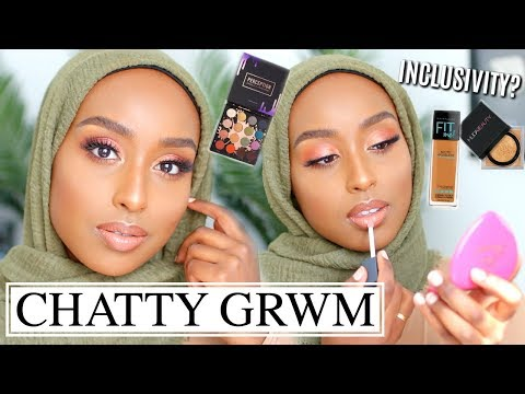 Chatty GRWM | TRYING NEW MAKEUP + INCLUSIVITY IN BEAUTY? | Aysha Abdul