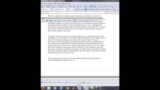 """Online TOEFL Course Comments to V: """"I video corrected independent writing practice test 3."""""""