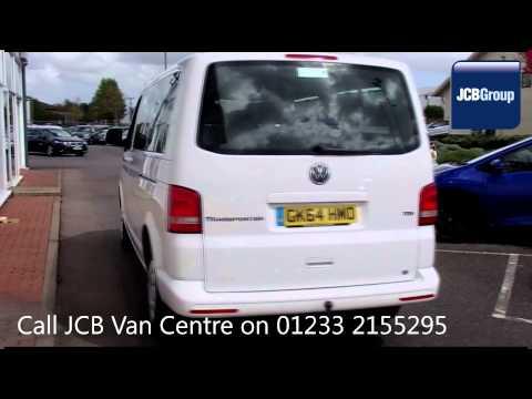 2014 Volkswagen Transporter Shuttle T30 SE  2l White GK64HMO for sale at JCB Van Centre