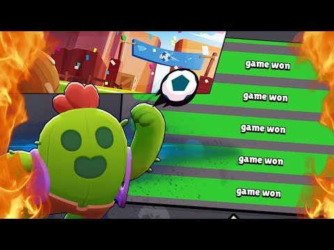 BRAWL BALL WINNING STRATEGY! Brawl Stars Beginner Tips and Attack Strategy! Spike Legendary Gameplay