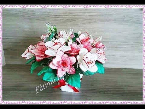 Flor Azaléia em Eva - Para Iniciantes