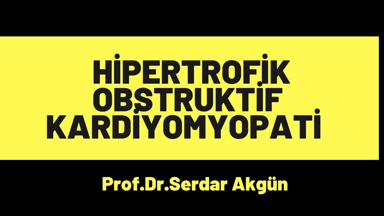 Patoloji, Kardiyomyopatiler, Hipertrofik KM
