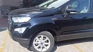 New Ford Ecosport  2021 Titanium Absolute Black Colour
